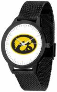Iowa Hawkeyes Black Mesh Statement Watch