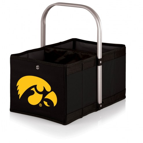Iowa Hawkeyes Black Urban Picnic Basket
