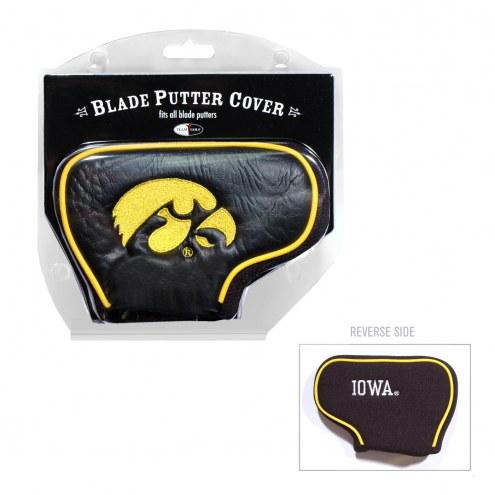 Iowa Hawkeyes Blade Putter Headcover