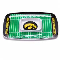 Iowa Hawkeyes Chip & Dip Tray