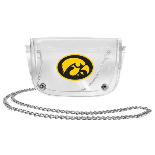 Iowa Hawkeyes Clear Waistpack
