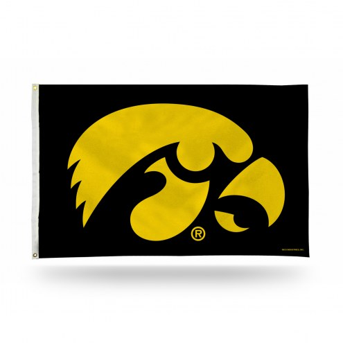 Iowa Hawkeyes College 3' x 5' Banner Flag