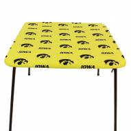 Iowa Hawkeyes Card Table Cover