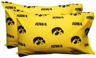 Iowa Hawkeyes Printed Pillowcase Set