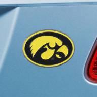Iowa Hawkeyes Color Car Emblem