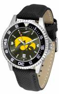Iowa Hawkeyes Competitor AnoChrome Men's Watch - Color Bezel
