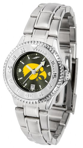 Iowa Hawkeyes Competitor Steel AnoChrome Women's Watch