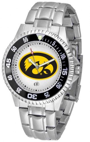 Iowa Hawkeyes Competitor Steel Men's Watch