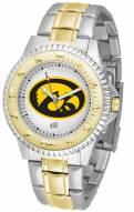 Iowa Hawkeyes Competitor Two-Tone Men's Watch