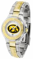 Iowa Hawkeyes Competitor Two-Tone Women's Watch