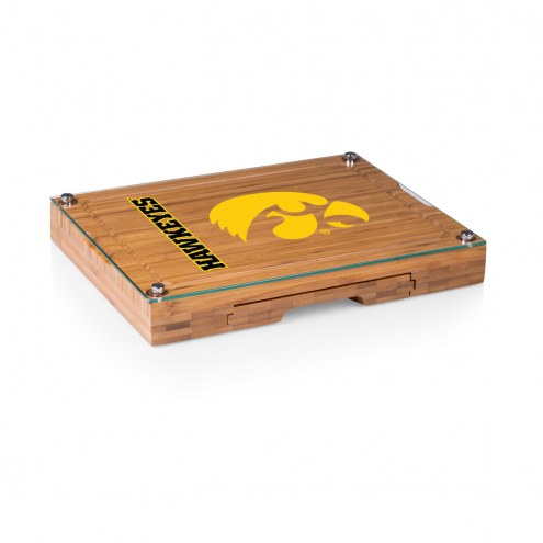 Iowa Hawkeyes Concerto Bamboo Cutting Board