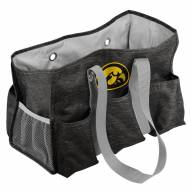 Iowa Hawkeyes Crosshatch Weekend Bag