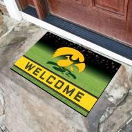 Iowa Hawkeyes Crumb Rubber Door Mat