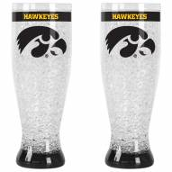 Iowa Hawkeyes Crystal Pilsner Glass