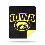 Iowa Hawkeyes Denali Sliver Knit Throw Blanket