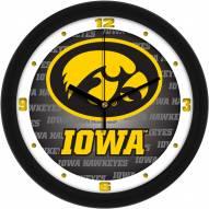 Iowa Hawkeyes Dimension Wall Clock