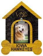Iowa Hawkeyes Dog Bone House Clip Frame