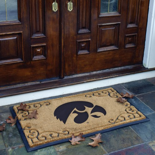 Iowa Hawkeyes Door Mat