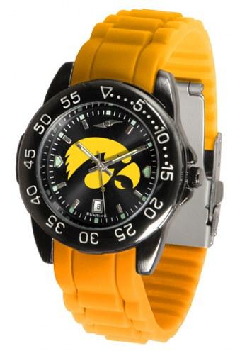 Iowa Hawkeyes Fantom Sport Silicone Men's Watch