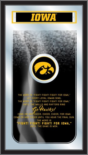 Iowa Hawkeyes Fight Song Mirror
