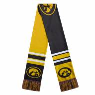 Iowa Hawkeyes Colorblock Big Logo Scarf