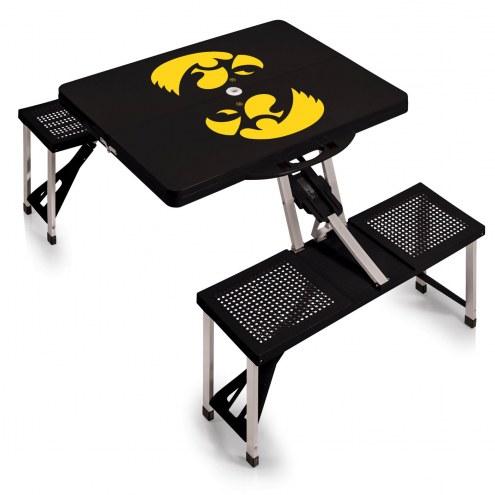 Iowa Hawkeyes Folding Picnic Table