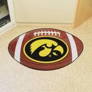 Iowa Hawkeyes Football Floor Mat