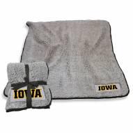 Iowa Hawkeyes Frosty Fleece Blanket