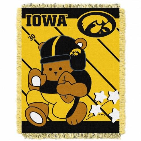 Iowa Hawkeyes Fullback Baby Blanket