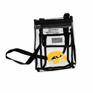 Iowa Hawkeyes Gameday Clear Crossbody Tote