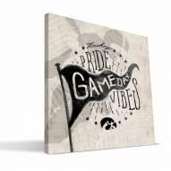 Iowa Hawkeyes Gameday Vibes Canvas Print