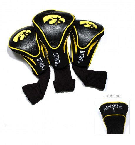 Iowa Hawkeyes Golf Headcovers - 3 Pack