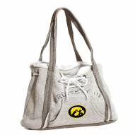 Iowa Hawkeyes Gray Hoodie Purse