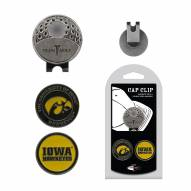 Iowa Hawkeyes Hat Clip & Marker Set