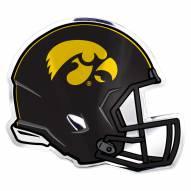 Iowa Hawkeyes Helmet Car Emblem