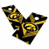 Iowa Hawkeyes Herringbone Cornhole Game Set