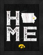 Iowa Hawkeyes Home Away From Home Wall Decor