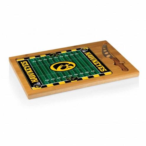 Iowa Hawkeyes Icon Cutting Board