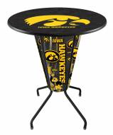 Iowa Hawkeyes Indoor Lighted Pub Table