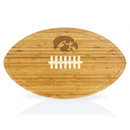 Iowa Hawkeyes Kickoff Cutting Board