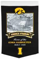 Iowa Hawkeyes Kinnick Stadium Banner