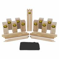 Iowa Hawkeyes Kubb Viking Chess