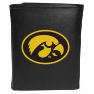 Iowa Hawkeyes Large Logo Tri-fold Wallet