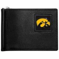 Iowa Hawkeyes Leather Bill Clip Wallet