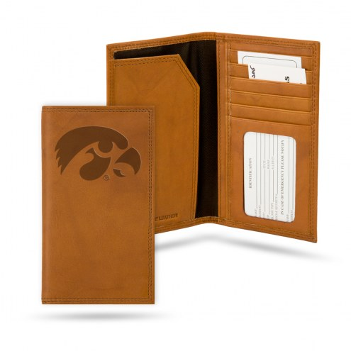 Iowa Hawkeyes Leather Roper Wallet