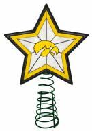 Iowa Hawkeyes Light Up Art Glass Tree Topper