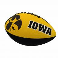 Iowa Hawkeyes Logo Junior Rubber Football