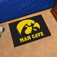 Iowa Hawkeyes Man Cave Starter Mat