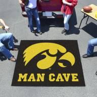 Iowa Hawkeyes Man Cave Tailgate Mat