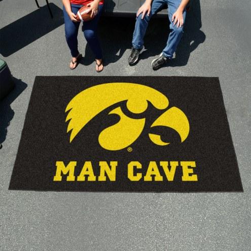 Iowa Hawkeyes Man Cave Ulti-Mat Rug